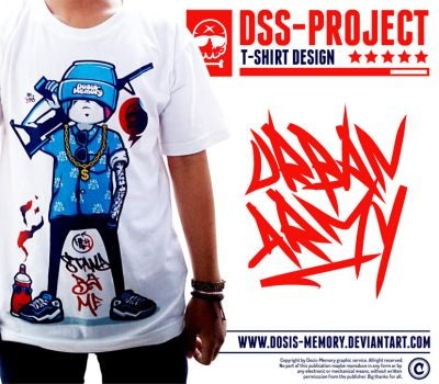URBAN ARMY T-SHIRT DSGN by Dosis-Memory