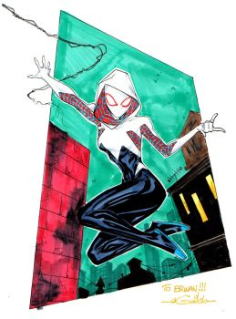 Spider-Gwen - PAGS 2016 by SpiderGuile