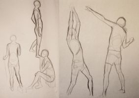 Figure Drawings by vaksine