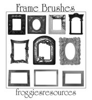 Frame Brushes by froggiesresources