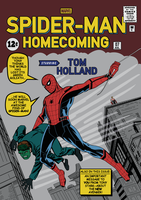 SPIDER-MAN: HOMECOMING Tribute Cover by RicoJrCreation