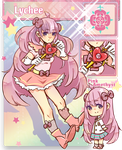 HK: Magical Girl Lychee by kiimcakes