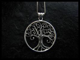 Filigree tree by Seatear