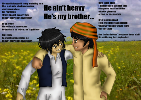 Brother's Love by Aph-Afghanistan