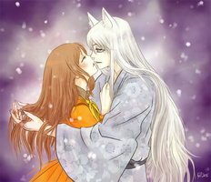 Nanami and Tomoe by Fennethianell