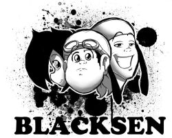 BlackSen Tshirt logo by BlackSen