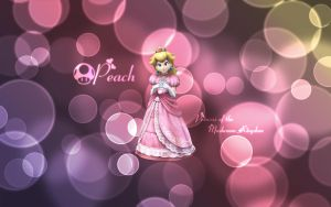 Princess Peach Wallpaper by kurama805