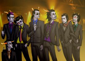 Suitstuck Party by fernyxferny