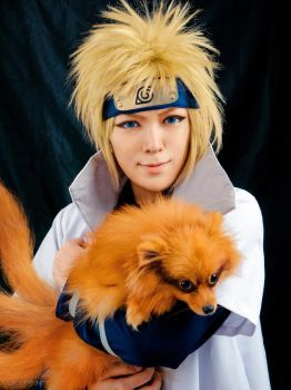 Yondaime and the Nine-Tails by behindinfinity