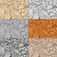 Tileable Crack Texture with 6 by elemis