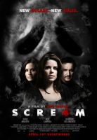 'Scre4m' Theatrical Poster by themadbutcher