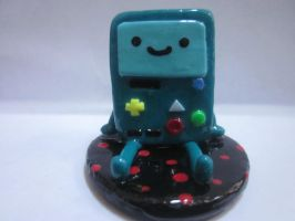 Polymer Clay Beemo by Darklunax110