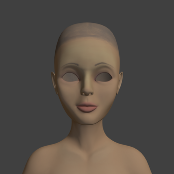 unnamed character texture wip by crispychaney