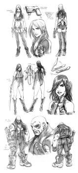 SUPERGIRL Concepts - SAM MARQ by alvinlee