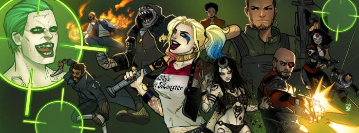 Suicide Squad!!!! by ChickenzPunk
