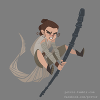Rey by miss-dronio