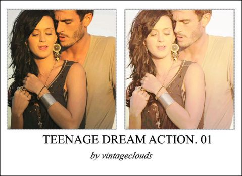 Teenage dream action. by vintageclouds