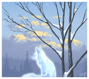 Spirit of winter by griffsnuff