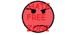 Hate free zone Stamp by CheyStarForever