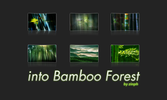 banboo forest by zinph