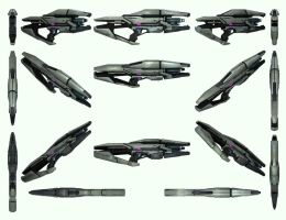 Mass Effect 3, Phaeston Reference. by Troodon80