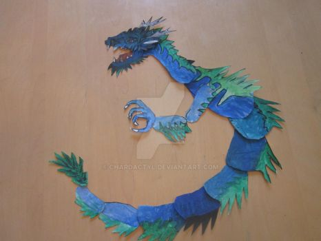 Blue Dragon by Chardactyl