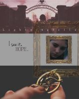 I see it. Hope. // Catching Fire #PrimAndKatniss by LightningBella