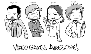 Video Games AWESOME by MLeth