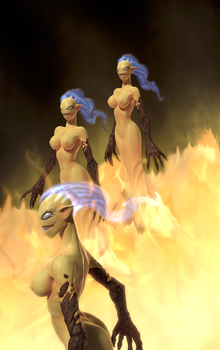 Furies by FredrikH