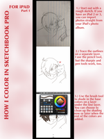 How I color in Sketchbook Pro for iPad-Part 1 by GydroZMaa
