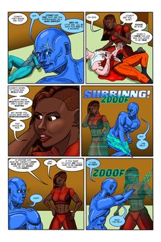 The Ripper Effect: Issue No. 2, Page 19 by EvilFishmonger