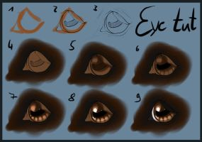 .: Horse eye tutorial:. by Pashiino