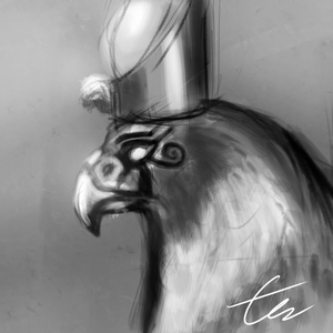 Horus (July Challenge) by SHNBX