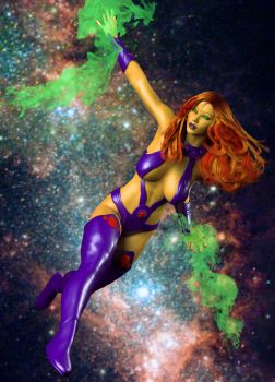 Real Render Starfire by zzzcomics
