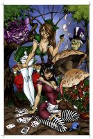 J Scott Campbell Alice Color by KittyParrish