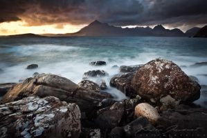 Over rocks and water by XavierJamonet