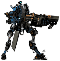 Titanfall: Ronin by teamwreckloose