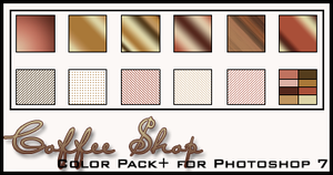 Coffee Shop Color Pack+ by redbonniekidd