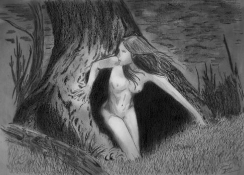 nymph of the tree by caiusaugustus