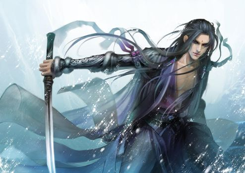 sword of the wind by heise