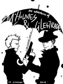 SHERLOCK|The Adventures of M.Holmes and G.Lestrade by tedizack