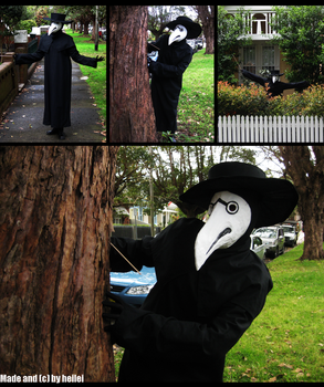.:Plague Doctor Costume:. by heilei