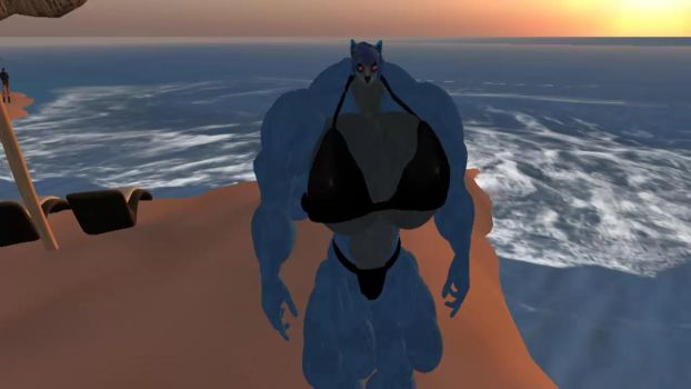 A bigger self (read description) by musclewolfofsl