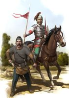 Visigoth Warriors by wraithdt