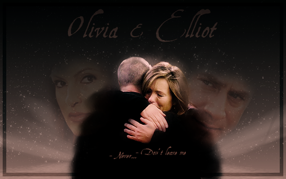 Liv and  El  Don't leave me by KadouCreations