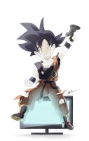 Son Goku Remastered by Vichuis