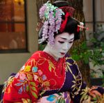 Guest at Meiji Temple Wedding 2 by AndySerrano