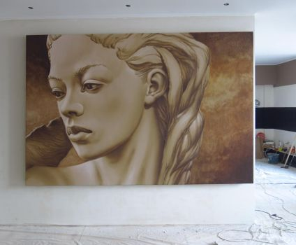 Mural for a private flat by tiN-naR