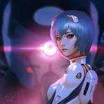 Rei Ayanami by raikoart