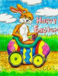 Apollo the Easter Bunny by MugenPlanetX